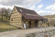 Barn in Southern Germany Stock Images