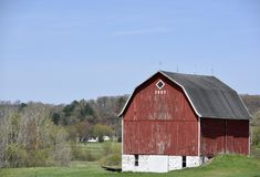 1925 Barn Royalty Free Stock Image