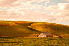 Barn at Sunset Royalty Free Stock Photo