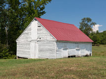Barn at Thomas Stone house in Maryland royalty free stock images