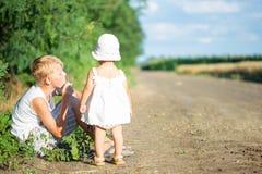 barn två Royaltyfria Foton