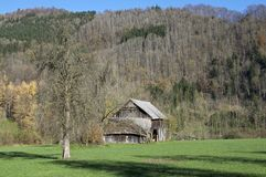Barn in Upper Austria Stock Photo
