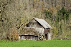 Barn in Upper Austria Royalty Free Stock Image