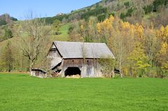 Barn in Upper Austria Stock Photos