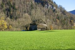 Barn in Upper Austria Royalty Free Stock Photography
