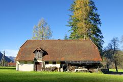 Barn in Upper Austria Royalty Free Stock Images