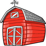 Barn Vector Illustration royalty free illustration
