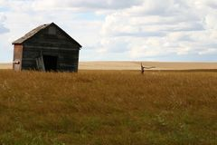 Barn and well royalty free stock photos