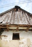 Barn Window in Topolo Royalty Free Stock Photography