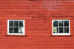 Barn Windows Stock Photography