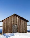 Barn in Winter Stock Photo