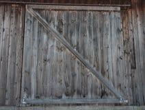 Barn wooden door Royalty Free Stock Photos