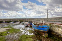 Barna Harbour Stock Image