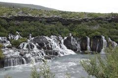Barnafossar Islandia Fotografía de archivo libre de regalías