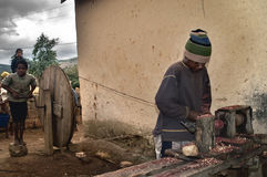 barnarbete Fotografering för Bildbyråer