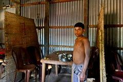 Barnarbete i Indien Arkivbild
