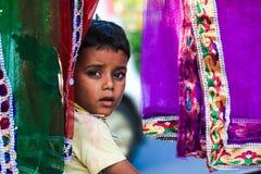 Barnarbete Indien Royaltyfria Bilder
