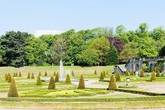 barnard kasztelu ogród obraz royalty free
