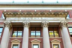 Barnard szkoła wyższa, intymna kobiet nauk humanistycznych szkoła wyższa Zak?adaj?cy w 1889 miasto nowy Jork obraz royalty free