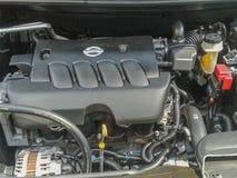 Часть двигателя автомобиля стоковые фотографии rf
