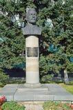 Barnaul, Rusia, agosto, 30, 2016 Nadie, monumento a Prisyagn Ivan Bonifatevich, presidente del primer presidente de Barnaul y Fotos de archivo
