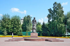 Barnaul, Russia, August, 17, 2016. Barnaul, a monument to `Farewell`. The victims of political repressions is dedicated to. Barnaul, Russia, monument to ` Stock Images