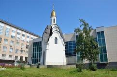 Barnaul, Russia, augusta, 17, 2016 Cappella del martire santo Tatiana Immagine Stock