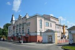 Barnaul, Russia, augusta, 17, 2016 Lo stato filarmonico del territorio di Altai, Barnaul Nel 1890 era la casa del ` s della gente Immagini Stock Libere da Diritti
