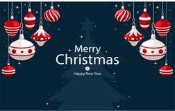 Barnbakgrund med julträdet Arkivbild