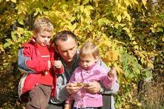 barnbarngranddad Royaltyfria Bilder