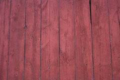 Barnboards rouges. Photographie stock