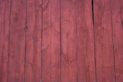 Barnboards vermelhos. Fotografia de Stock