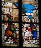 Barndom av Jesus royaltyfri fotografi