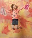 barndom och lycka royaltyfria bilder