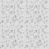 Barndom - sömlös textur Arkivfoton