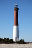 barnegat新泽西的灯塔 免版税库存图片