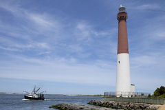 Barnegat Light Lighthouse, New Jersey Stock Image
