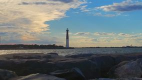 The Barnegat lighthouse stock photography