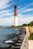 Barnegat Lighthouse. At Long Beach Island, NJ, USA Royalty Free Stock Photos