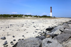 Barnegat Lighthouse New Jersey Shore. Royalty Free Stock Photos