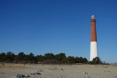 Barnegat Lighthouse Royalty Free Stock Photo