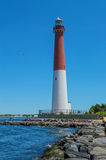 Barnegat Lighthouse Scene Royalty Free Stock Images