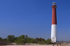 Barnegat Lighthouse, from the Walkway Stock Photos