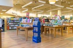 Barnes et intérieur noble de magasin photos libres de droits
