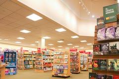 Barnes et intérieur noble de magasin photo libre de droits