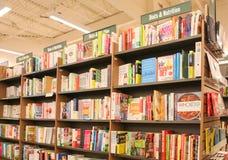 Barnes et intérieur noble de magasin images libres de droits