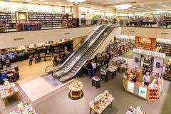 Barnes & Noble bokhandel Royaltyfri Bild
