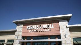 Barnes & Noble Book Sellers. Barnes & Noble, Inc., is a Fortune 500 company, the largest retail bookseller in the United States, and one of the nation`s Royalty Free Stock Photo