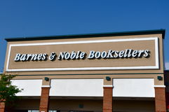 Barnes & Noble Booksellers store. Falls Church, VA, USA - August 19, 2011: Barnes & Noble Booksellers store. Barnes & Noble, Inc. is the largest book retailer in stock photos