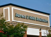 Barnes & Noble Booksellers store Royalty Free Stock Photos
